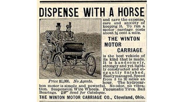 Horse newspaper article