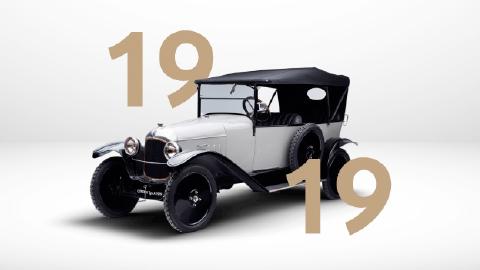100 years of citroen