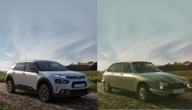 Citroen GS C4 old vs new