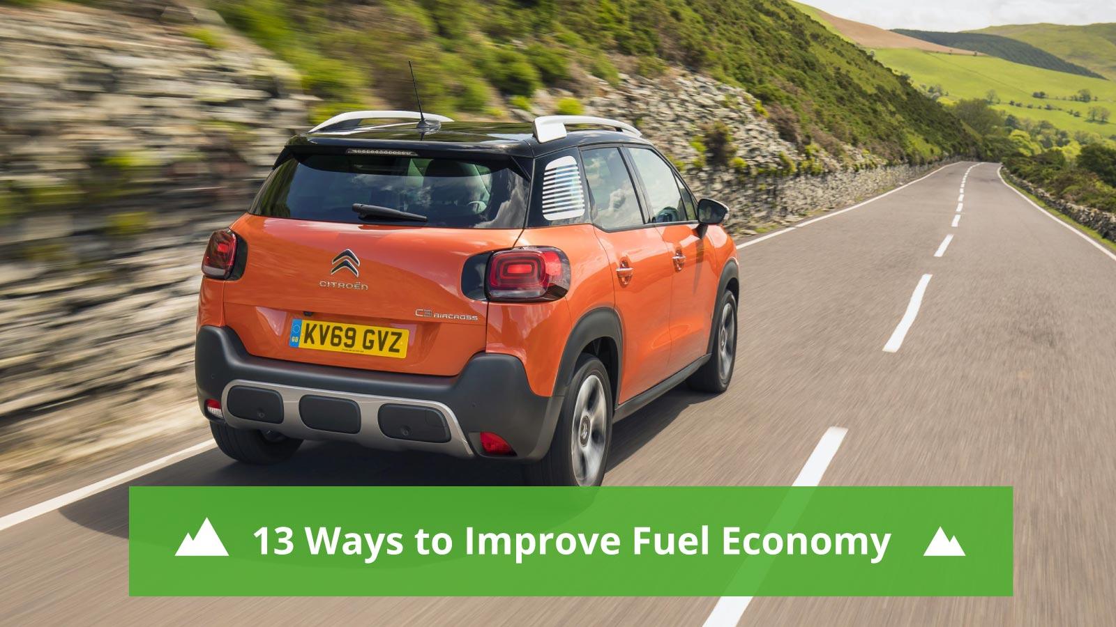 13 Ways to Improve Fuel Economy