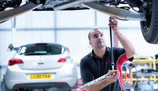 Vauxhall Servicing and Aftercare Page Collection
