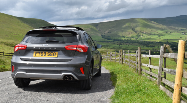 Ford Focus Active X Exterior Rear