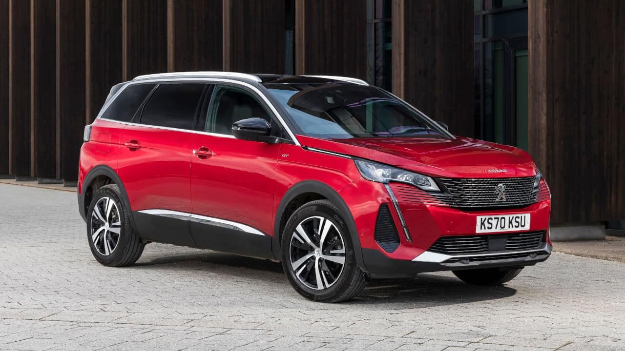 Red Peugeot 5008 7-Seat