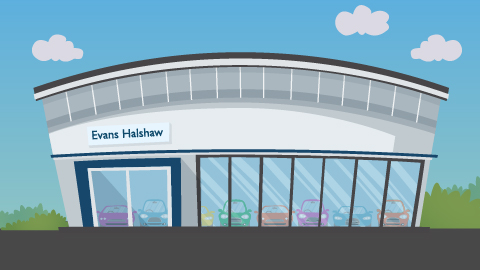 Evans Halshaw dealerships
