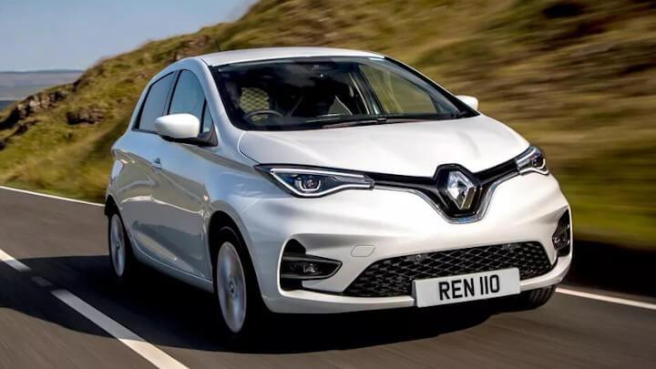 Renault Zoe Van: Driving