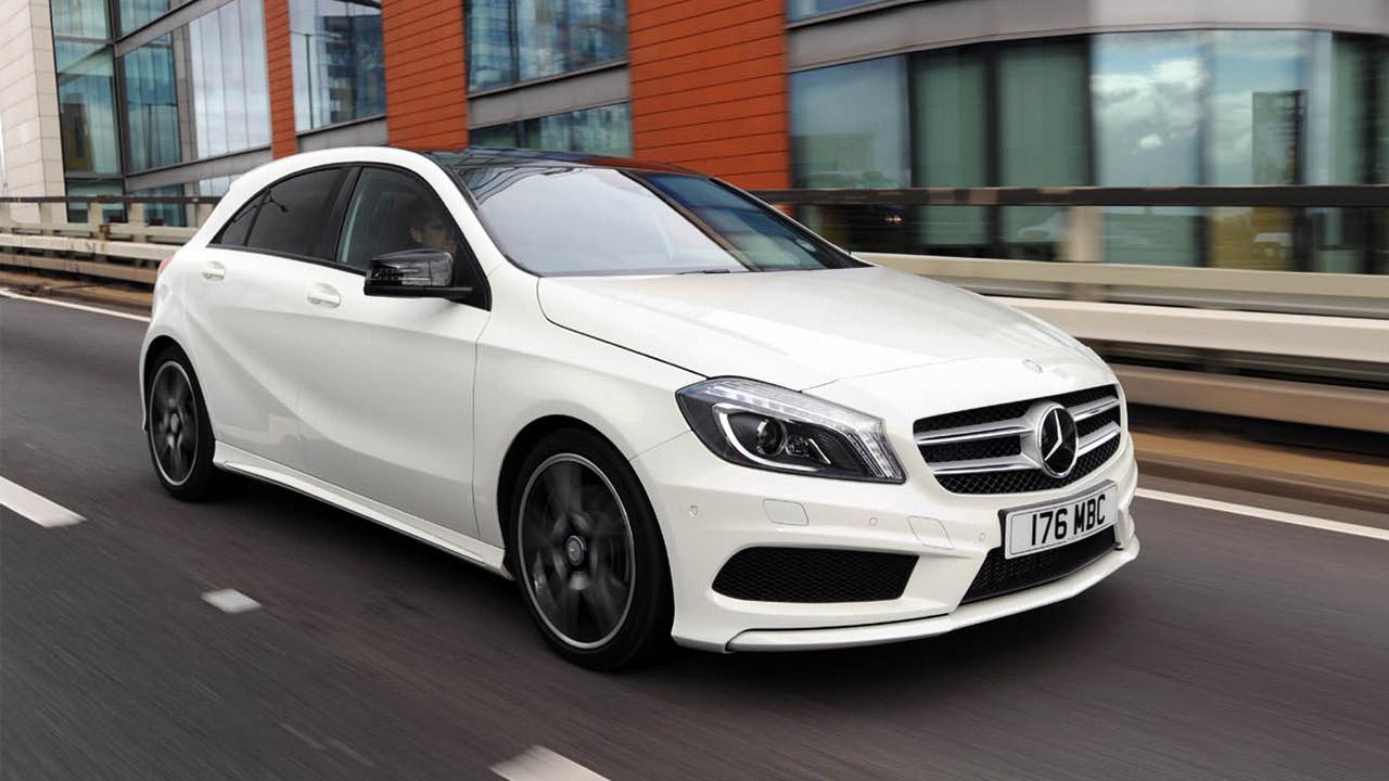 Mercedes-Benz A-Class, driving shot