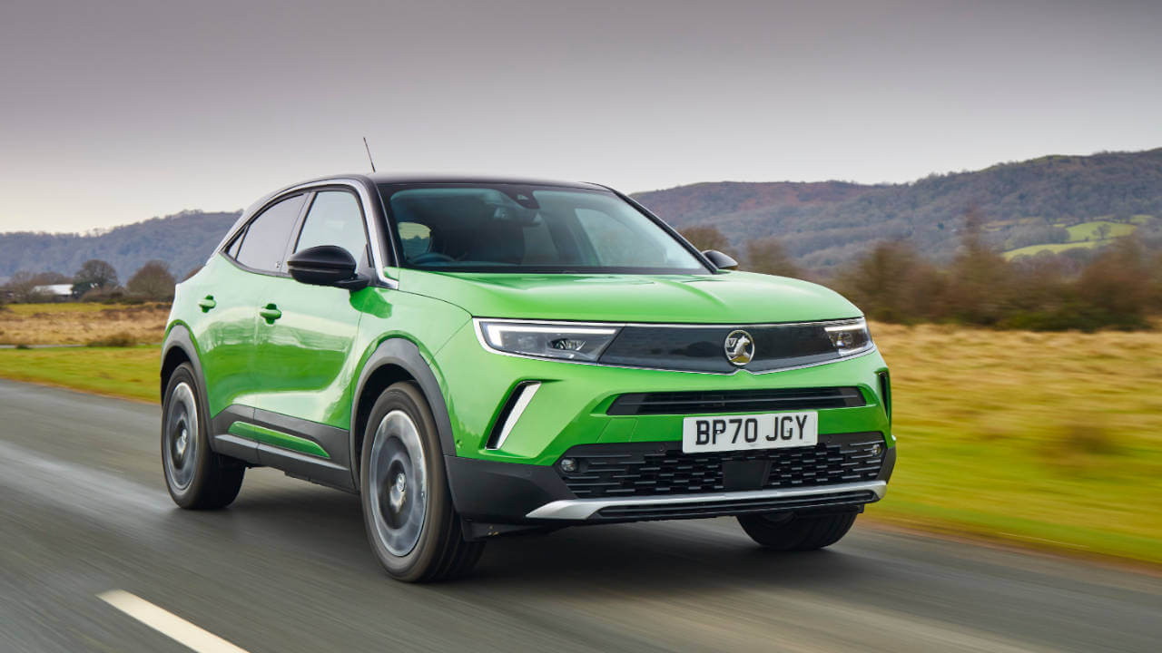 Vauxhall Mokka-e: Driving