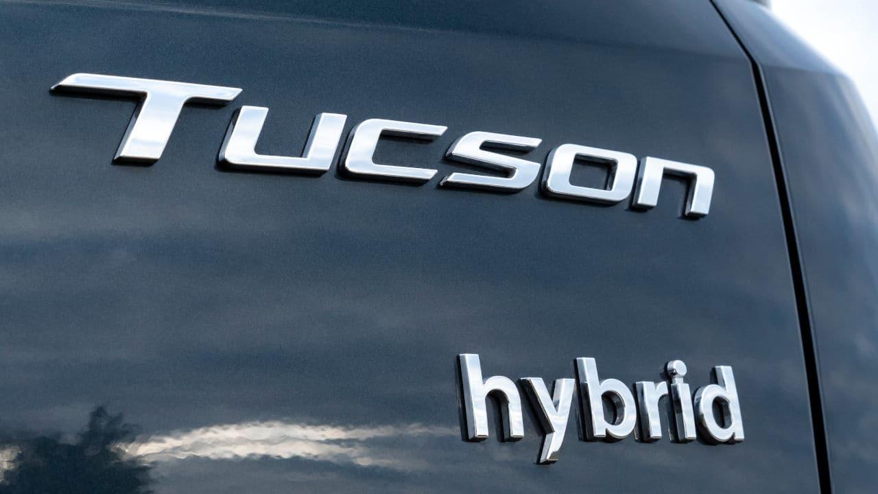 Tucson Hybrid Badge