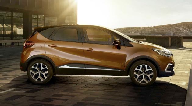 Brown Renault Captur