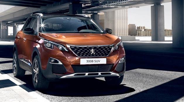 Brown Peugeot 3008