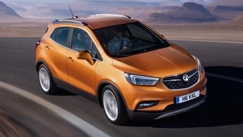 Orange Vauxhall