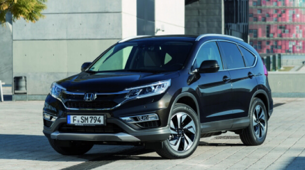 Black Honda CR-V