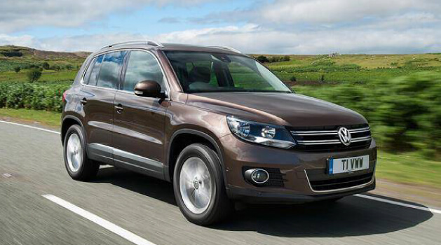 Brown Tiguan