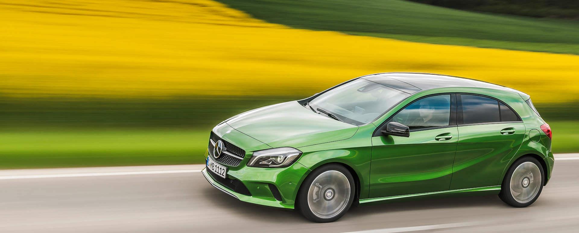 Mercedes-Benz A-Class, Driving