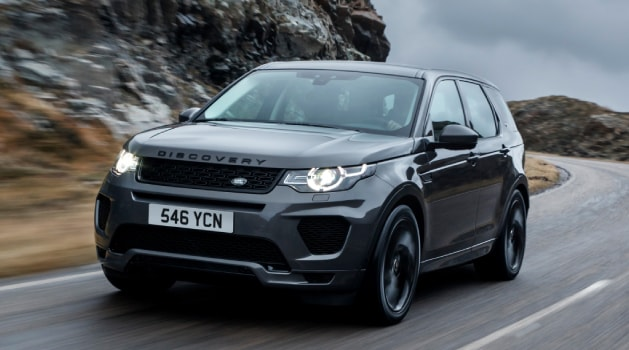 Grey Land Rover Discovery Sport