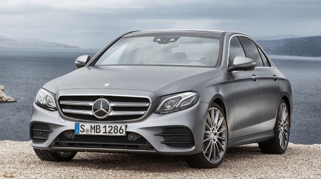 Grey Mercedes-Benz E-Class