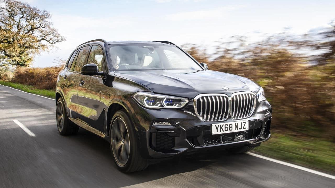 BMW X5, Driving