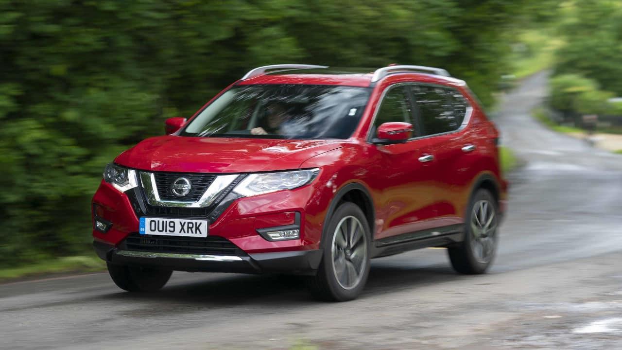 Nissan X-Trail, Driving