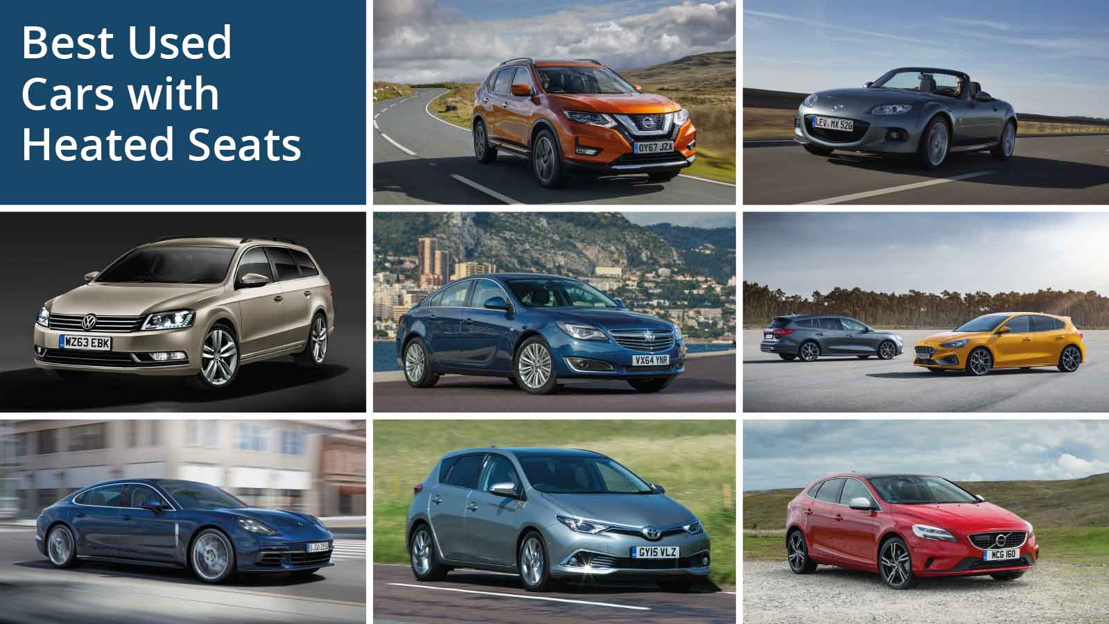 Best Used Cars with Heated Seats