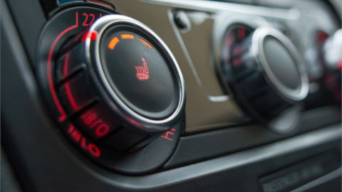 Car Heated Seat Controls