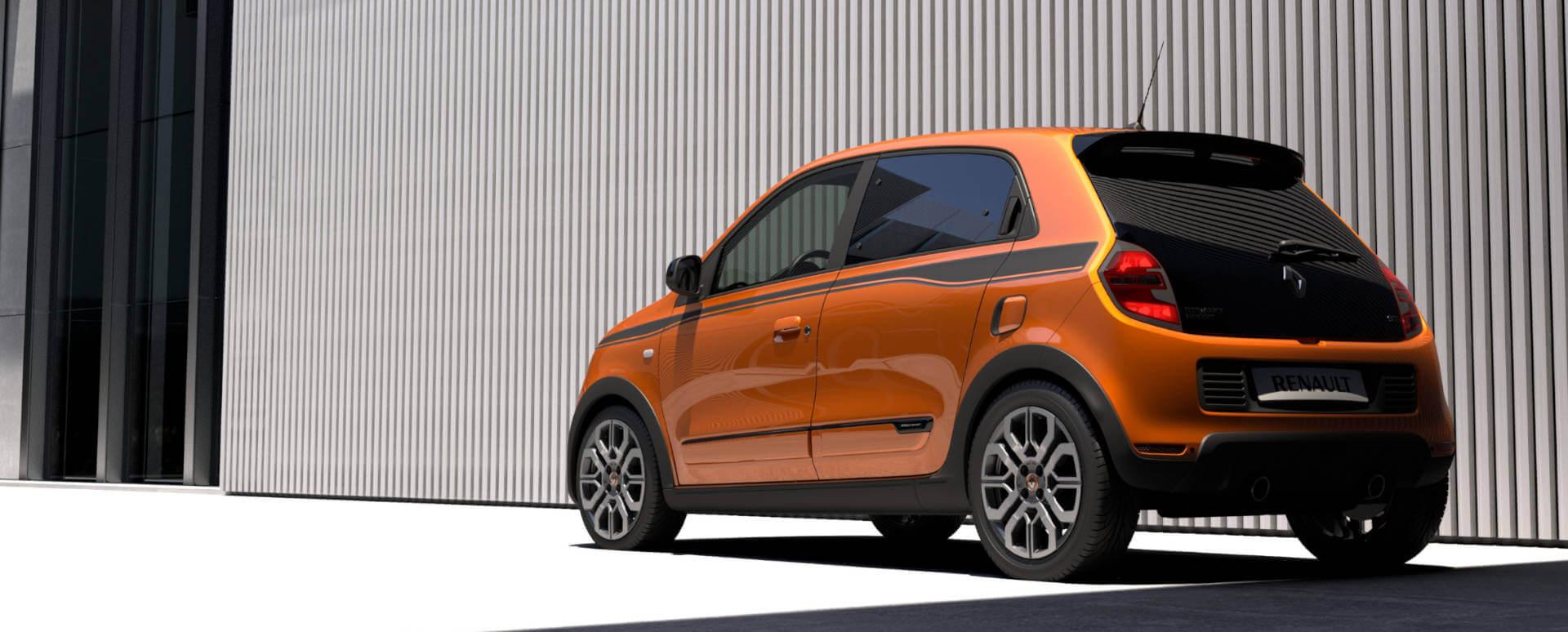 Renault Twingo, Rear