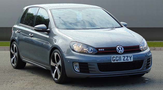 Grey Volkswagen Golf GTI