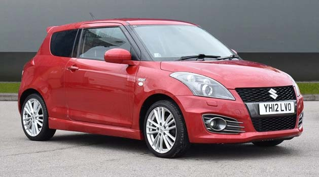 Red Suzuki Swift Sport