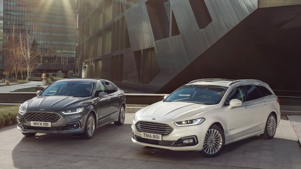 Ford Mondeo Hybrid Saloon and Estate