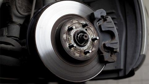 brake disc and caliper