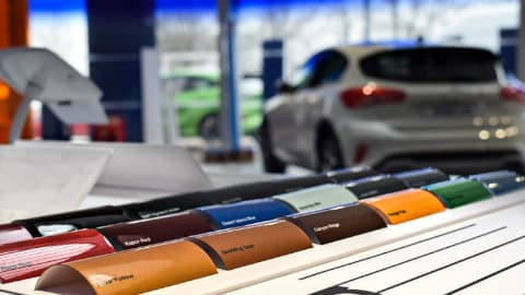 Ford Paint Colours