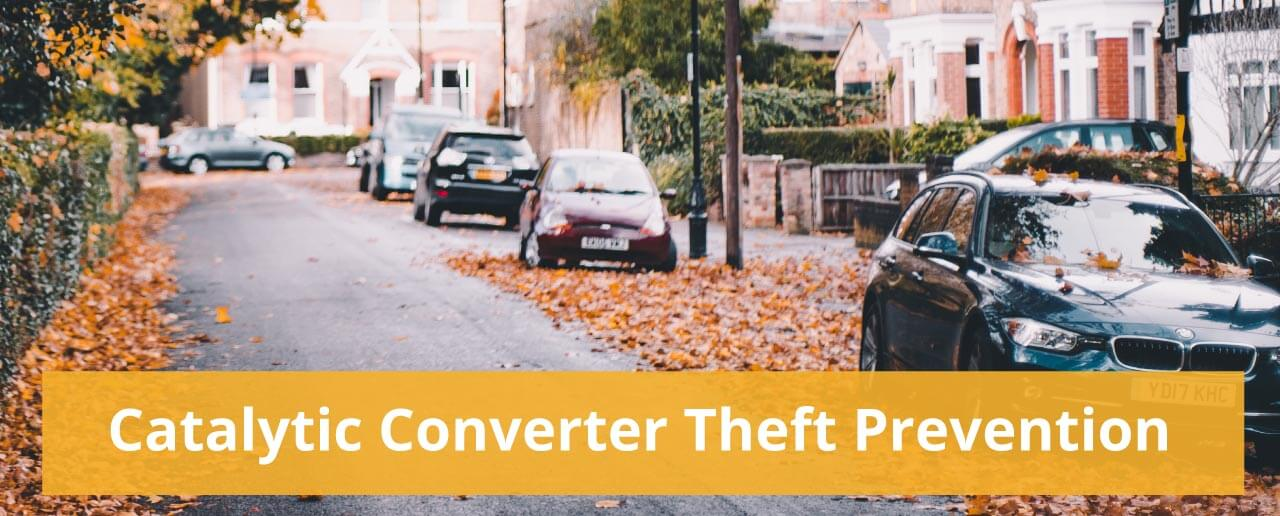 Catalytic Converter Theft Prevention Tips