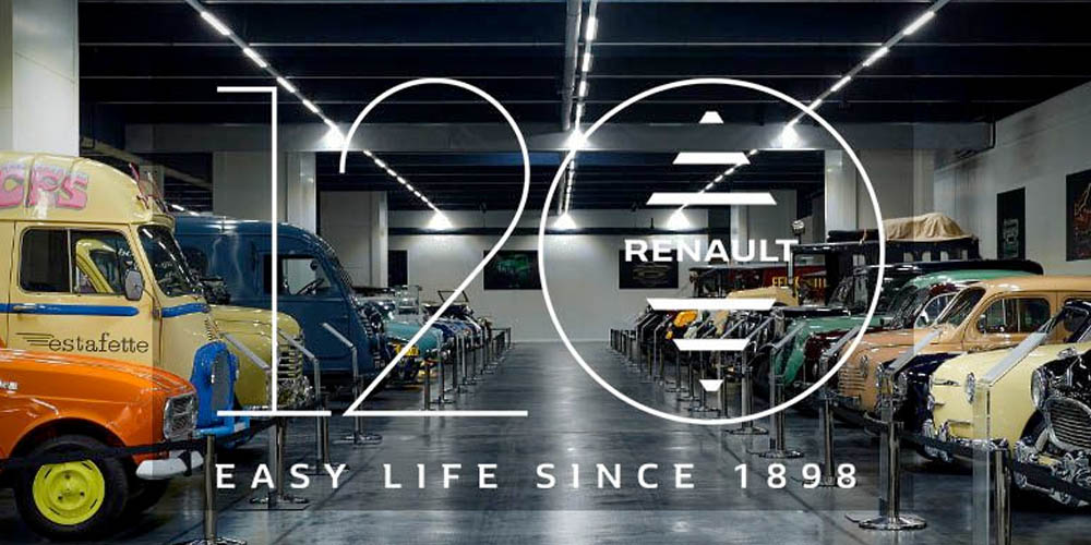 120 years of Renault