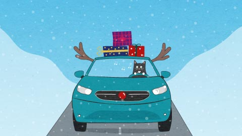 Ultimate Driving Home for Christmas Playlist