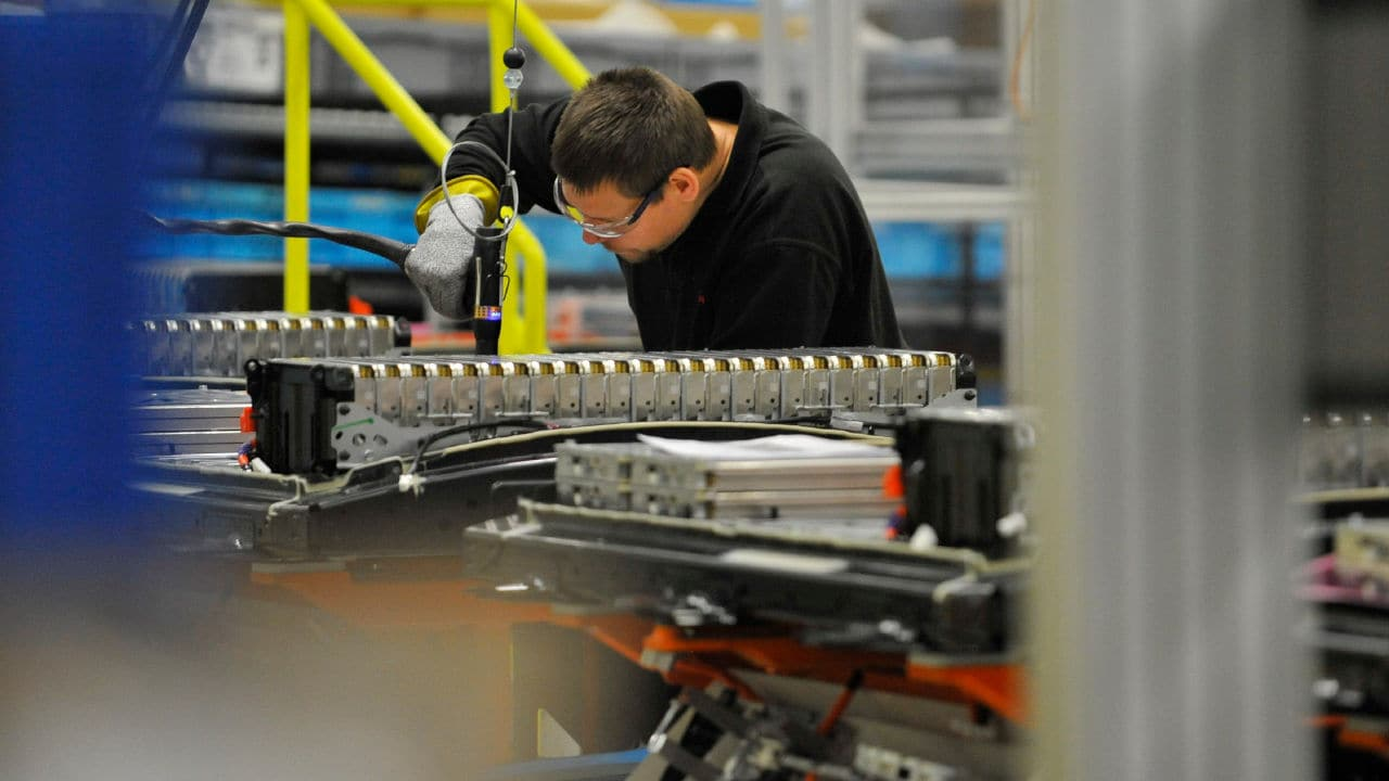 Nissan UK Battery Plant