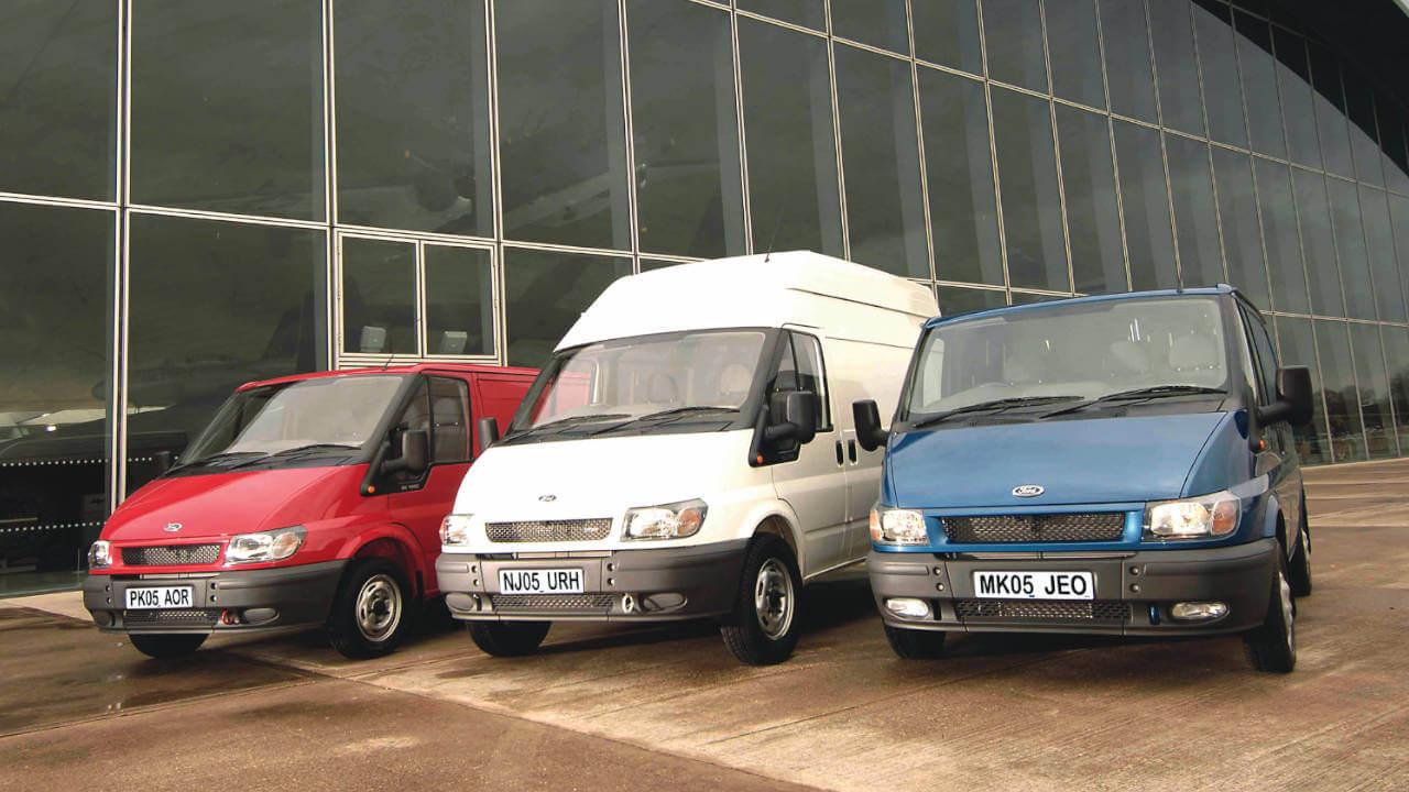 2000 Third Generation Ford Transit Range