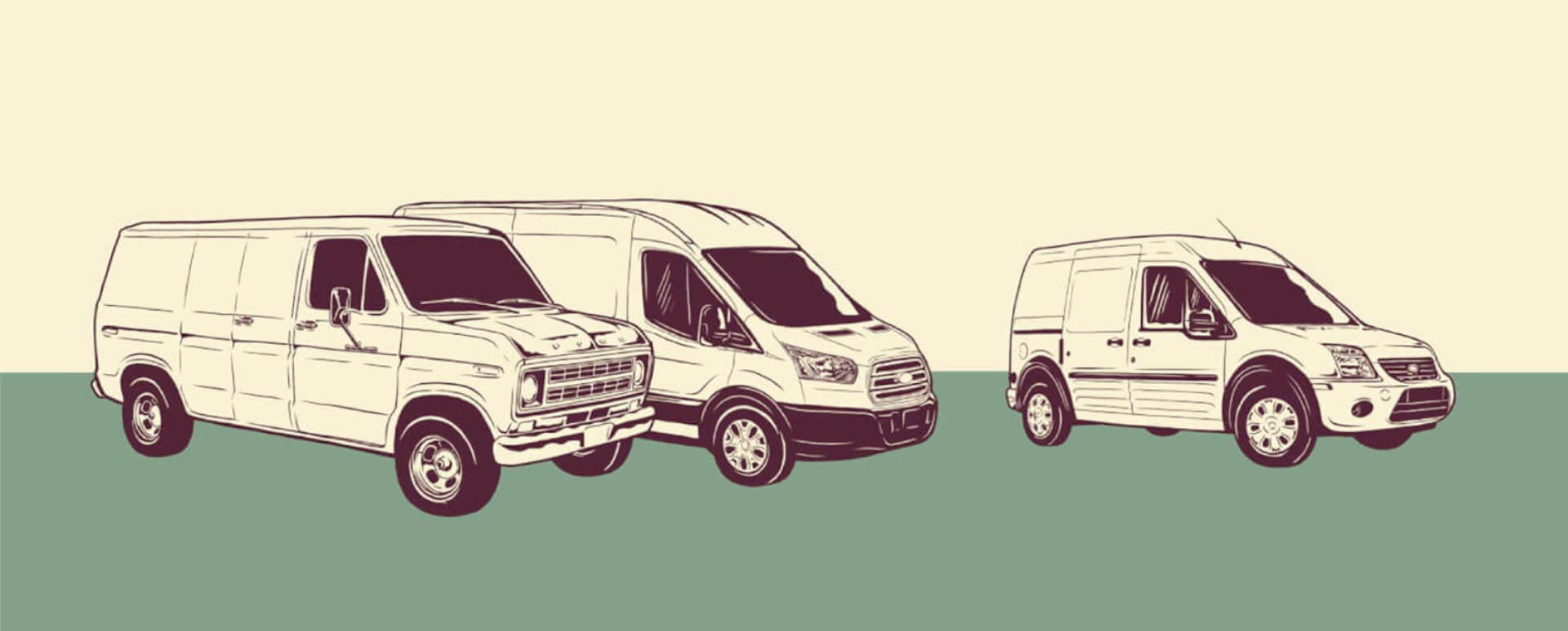 Evolution of the Ford Transit Van