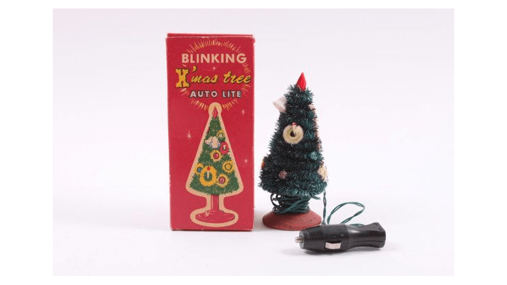 Car Dashboard Christmas Tree