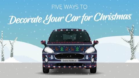 Ways to Decorate Your Car for Christmas