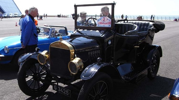Ford Model T in Blackpool