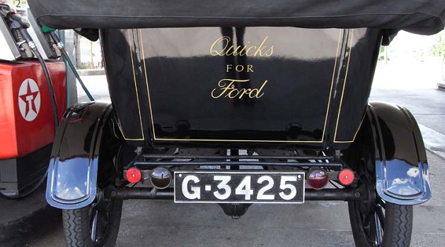 Ford Model T rear end