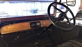 Ford Model T interior