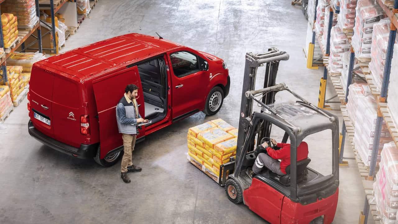 Citroen Dispatch Cargo Weight Loading