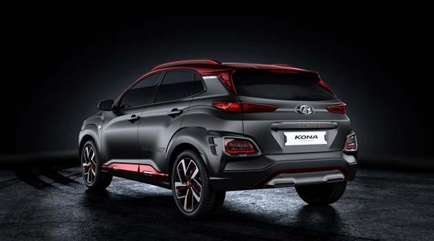 Black Hyundai Kona