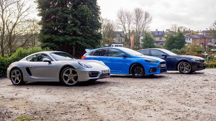 Batley Performance Car Line Up