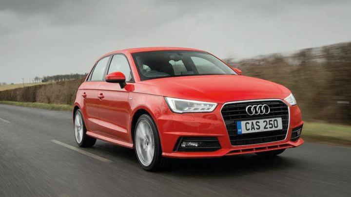 Red Audi A1