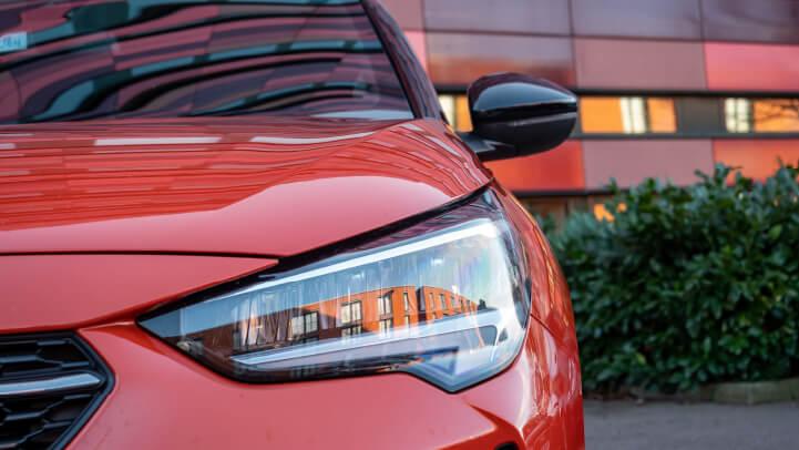 New Vauxhall Corsa Headlight