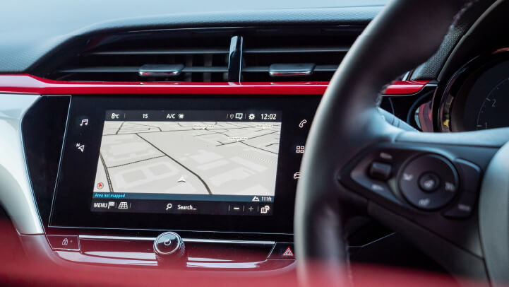 New Vauxhall Corsa Satellite Navigation