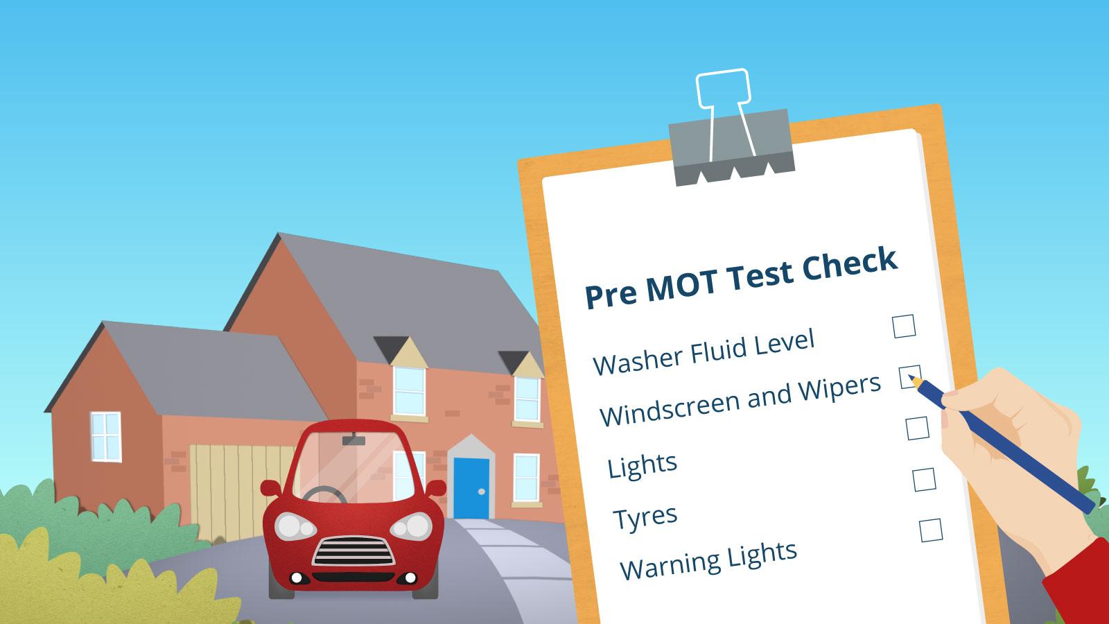 Pre MOT Test Checklist