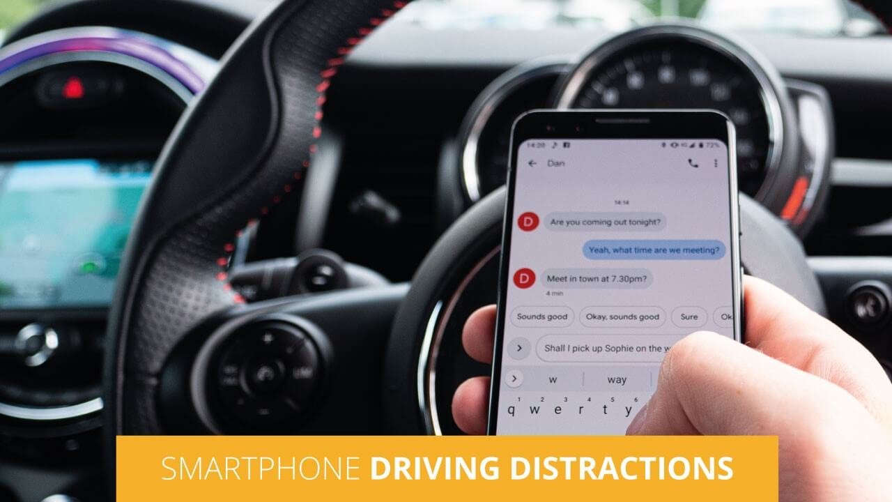 Smartphone Driving Distractions
