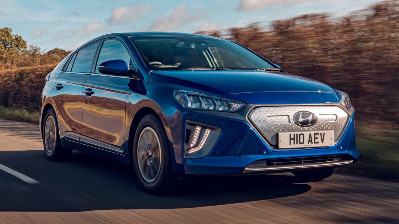 Hyundai IONIQ Driving